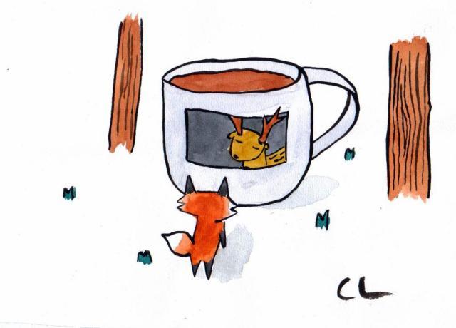 Boceto original Garage Art II (Arturo Alcala) @ Cafeleería 2013