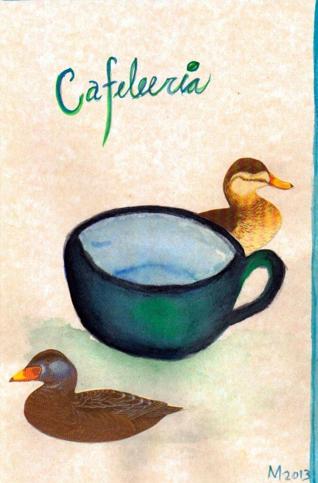 M. (sic) fanzine @ Cafeleería 2013