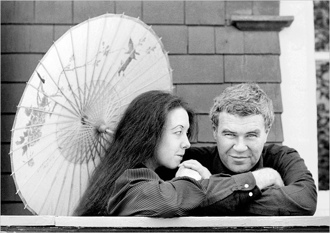 Tess Gallagher y Raymond Carver
